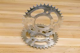 Chain Sprockets made with steel