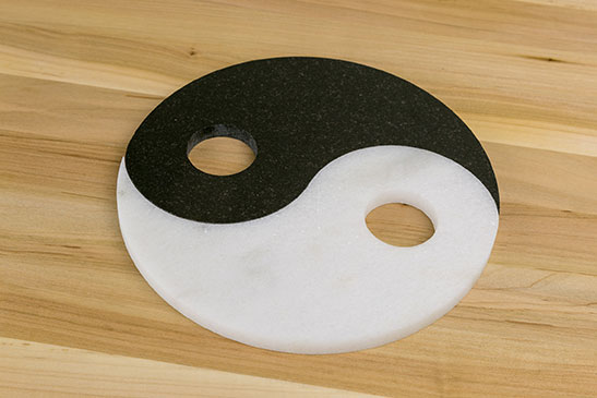 Yinyang Marble made with Granite